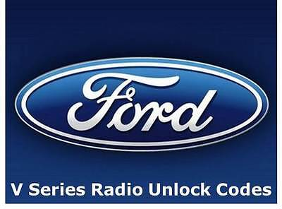 Unlock Ford V Serial Radio Pin Code Decode 6006 CDC 6000 + Sony 24 Hour Service