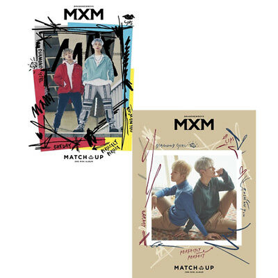 MXM MATCH UP 2nd Mini Album 2 Ver SET 2CD+POSTER+2Photo Book+2Stand+4Card SEALED