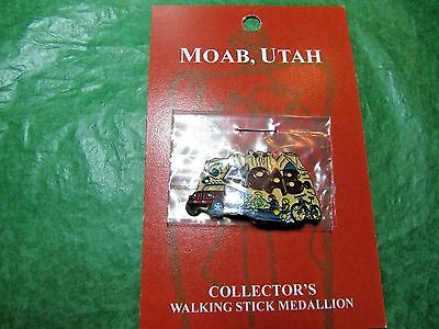 Moab Utah Four-Wheeling, River Rafting, Mountain Biking Hiking Medallion (H35)