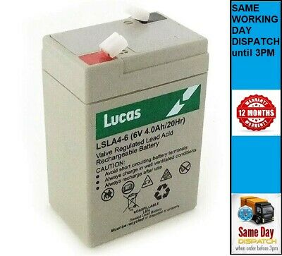 RITAR RT645 Rechargeable BATTERY LEAD ACID AGM 6V 4.5AH (4ah) - LP6-4.0  NP4-6