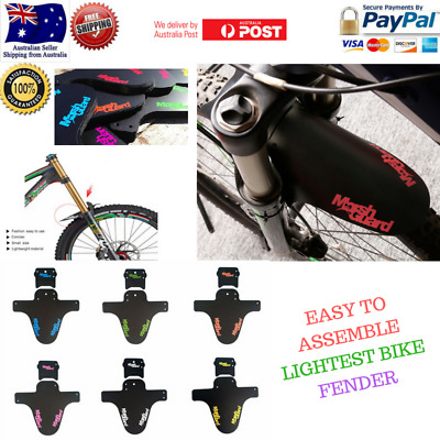 MARSH GUARD Bicycle Mudguard MTB Fender Mud Guards Wings - Bicycle Front Fender