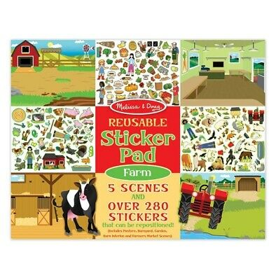 Melissa & Doug Sticker Pad - Farm