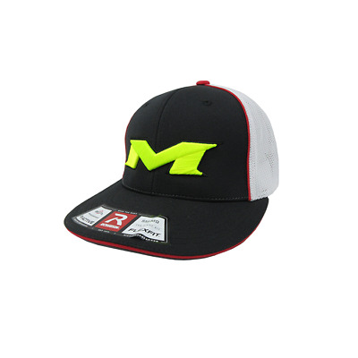 Miken Hat by Richardson (R165)  Black/White/Black/Black/Volt SM/MD