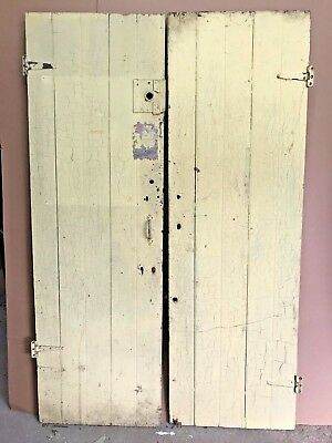 "Unique- 1 of a Kind Barn Style Doors- Reclaimed- Vintage- 23""x 74"""