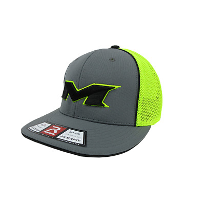 Miken Hat by Richardson (R165) Graphite/Volt/Graphite/Volt/Black XS/SM