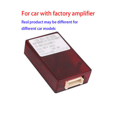 Can Bus Decoder Adapter for Car Stereo GPS NAV for Car with Factory Amplifier