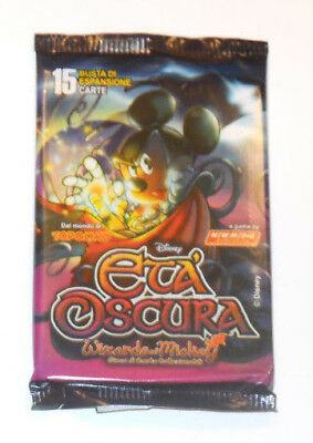 WIZARDS OF MICKEY: 1 BUSTINA - ETA' OSCURA in ITALIANO - CONTIENE 15 CARTE