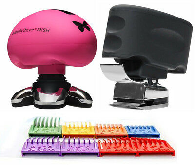 Skull Shaver Butterfly Pro 5 Head Electric Shaver & Beast Clipper Combi Pack