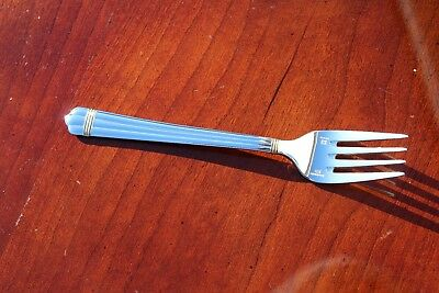 Christofle Aria Gold Silver Plated Salad Fork