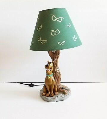 RARE Hanna Barbera SCOOBY DOO Haunted Bayou Tree Working Lamp With Shade 1997