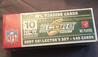 2007 Score Collector's Nfl  440 Trading Cards Box