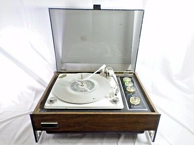 Zenith Solid State Micro Touch Stereo Record Player