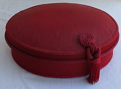 Hat Box Princess Marcella Borghese Red Fabric