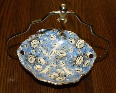 Vintage Royal Winton Mint Dish and  Stand Numbered