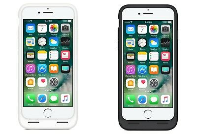 iPhone 7 OEM Smart Battery Charging Case - Black / White