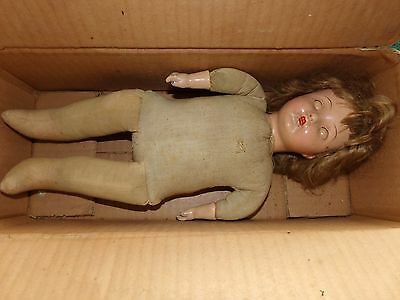 Antique Circa 1920's Estate Girl's Baby Doll-Original Madame Hendren