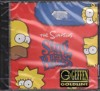The Simpsons CD The Simpsons Sing The Blues OST Soundtrack Sig 0720642430828