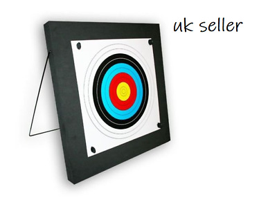 Archery Foam Boss Target Kit With Aluminium Stand - Perfect for the Garden