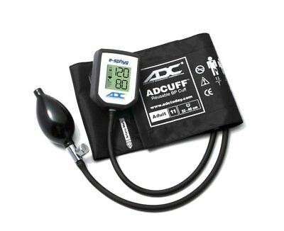 ADC Diagnostix E-Sphyg Digital Aneroid Sphygmometer - Adult, Black - 7002-11ABK