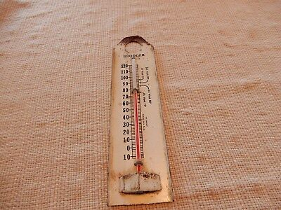 Awesome vintage tin Brooder thermometer in working order