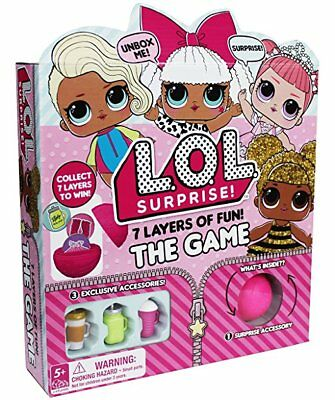 LOL Surprise! 7 Layers of Fun! The Board Game! Exclusive Accessories New Limited