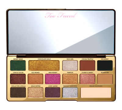 Too Faced Chocolate Gold Eyeshadow Palette New 100% Genuine!