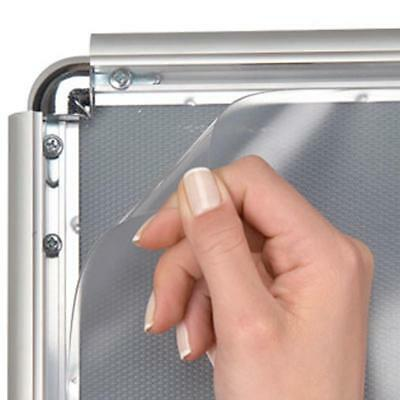 5/10 Anti-glare PVC FRONT COVER A0 A1 A2 A3 A4 POSTER SNAP FRAME REPLACEMENT