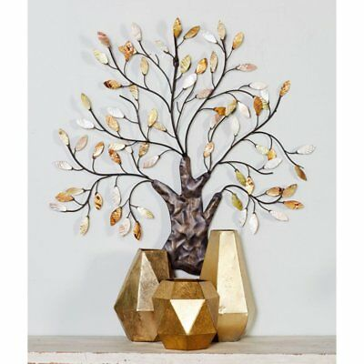 LARGE METAL TREE Of Life Wall Art Decor Garden Patio Sculpture ...