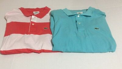 2 Stripe Polo 95 Lacoste Blue Of 8 49 Shirts Size Men's Lot Baby Bw4qA
