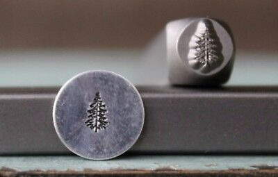 SUPPLY GUY 6mm Pine Tree Metal Punch Design Stamp SGCH-200