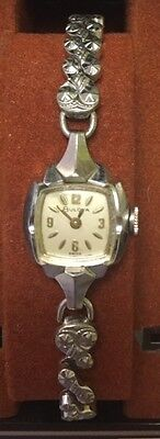 Vintage Ladies BULOVA 10k Gold-Filled Swiss Wind Up Watch: For Parts