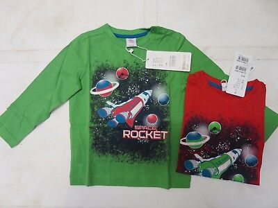 Boys top t-shirt long sleeve S.Oliver age 2 3 4 5 6 7 8 years RRP £10 NEW space