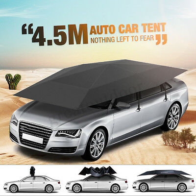 4.5 x 2.3m Automatic Car Roof Cover Umbrella Sunshade Roof Tent UV Protection AU