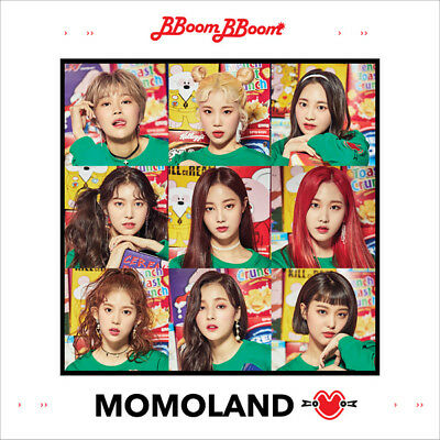 MOMOLAND [GREAT!] 3rd Mini Album CD+POSTER+Photo Book+2p Photo Card K-POP SEALED