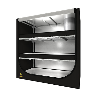 Secret Jardin 4' x 2' x 4' Dark Propagator DP120 Grow Tent