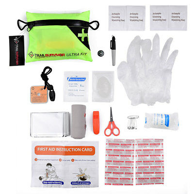 Lightweight Ultra First Aid Kit - Emergency Survival Kit Trail Running & Hiking