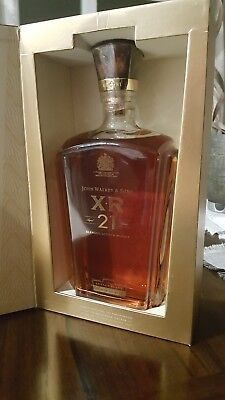Johnnie Walker & Sons XR 21 Blended Scotch Whiskey-Unopened in Box
