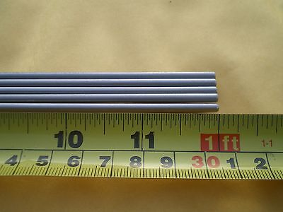 "10 Pcs. Stainless Steel Round Rod 304, 1/8"" (.125"") (3.24Mm.) X 12"" Long"