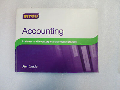 MYOB Accounting v18 Software User Guide