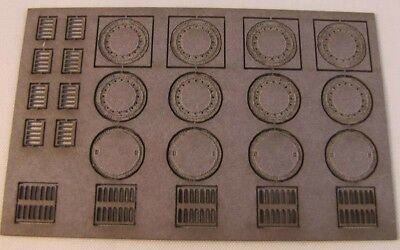 HO Scale Noch Manhole Covers - 14218