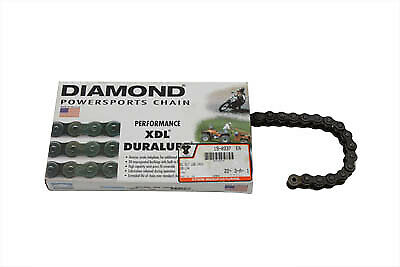 Self Lube .530 106 Link Chain fits Harley Davidson,by Diamond 19-0333