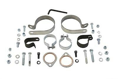 Dual Exhaust Clamp Kit,for Harley Davidson,by V-Twin