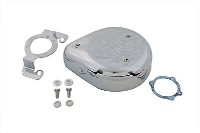 Tear Drop Air Cleaner Kit Chrome Flame,for Harley Davidson,by V-Twin