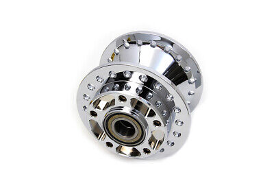 Front Wheel Hub Chrome,for Harley Davidson,by V-Twin