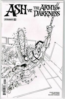 Ash vs The Army of Darkness #2 Cover E 1:20 Variant VF 2017 Dynamite - Vault 35