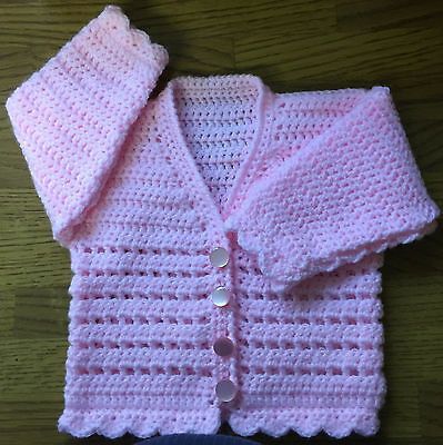 6 yrs Birth PDF by email Thistle Flower Baby Crochet Pattern in DK 1042