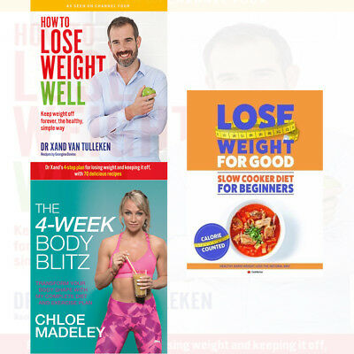 How To Lose Weight For Good 3 Books Collection Set Lose Weight Well NEW BRAND