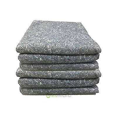 50 x House Removal Furniture Protection Storage Blankets Large 200cm x 150cm
