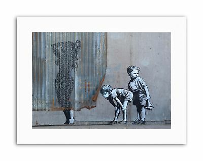Banksy Dismaland Shower Graffiti Street Art Canvas art Prints