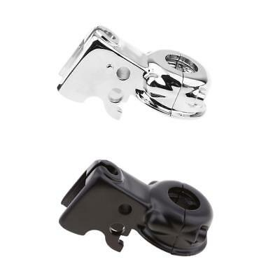 2pcs Clutch Lever Mount Bracket for Harley Touring Softail XF2906250-E
